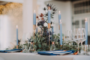 Wedding, laid table, detail, blur,